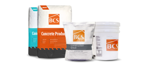 bcs products محصولات bcs فوق روان کننده ها افزودنی های بتن